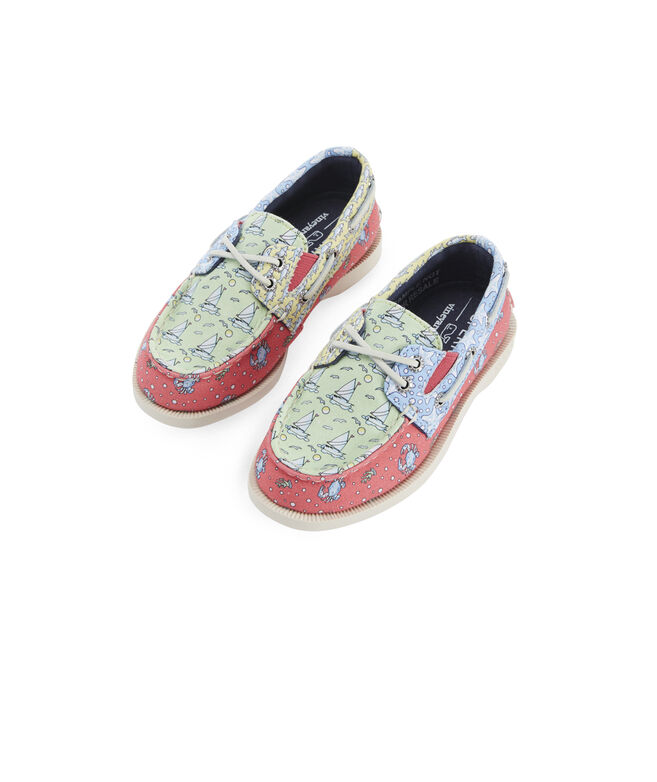 Little Kid's Sperry x vineyard vines Heritage Patchwork Authentic Original Boat Shoe