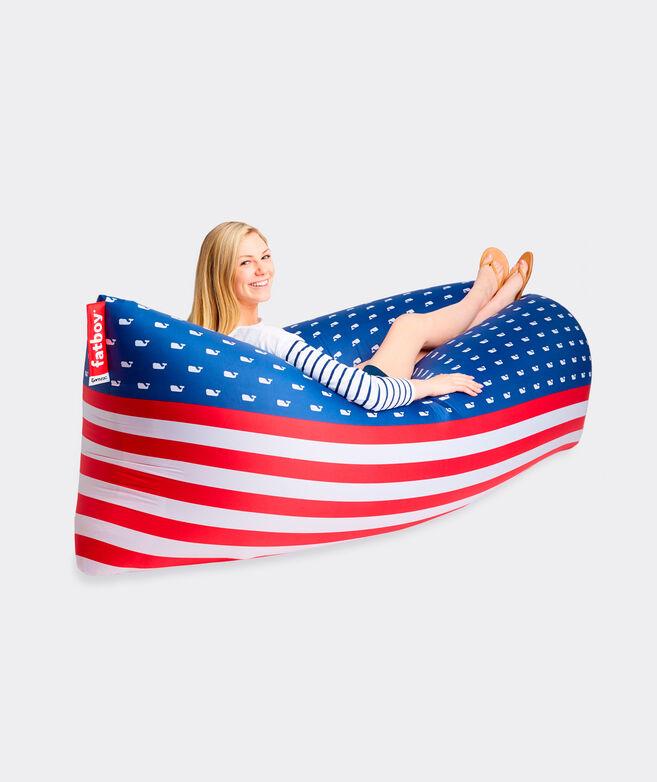 Flag Print Fatboy Lounger
