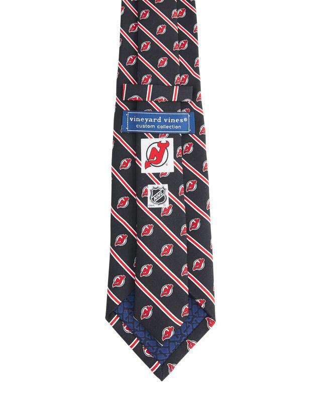 New Jersey Devils Rep Stripe Boys Tie