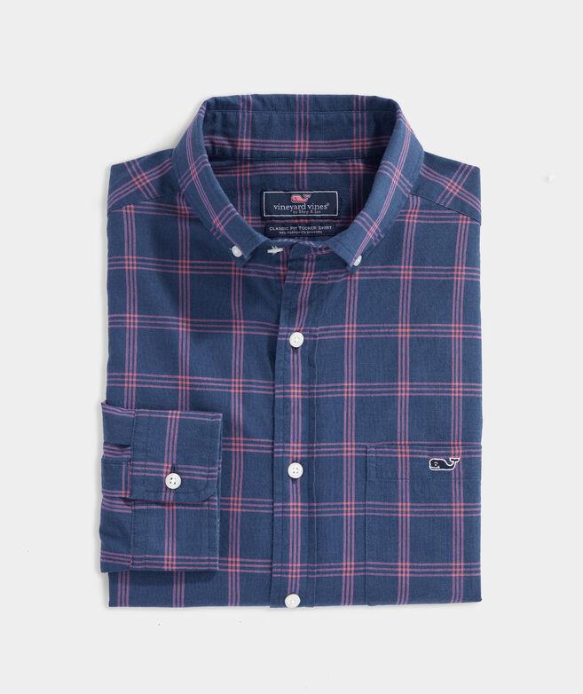 Classic Fit Bay Indigo Tucker Button-Down Shirt