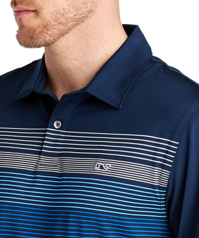 Eagle Engineer Stripe Bowline Polo
