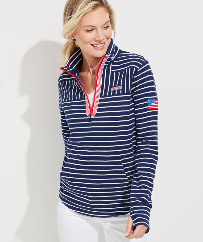 Americana Relaxed Stripe Shep Shirt