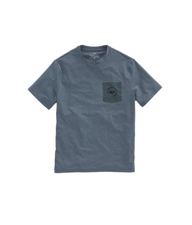 Performance Nylon Pocket Vintage Whale T-Shirt