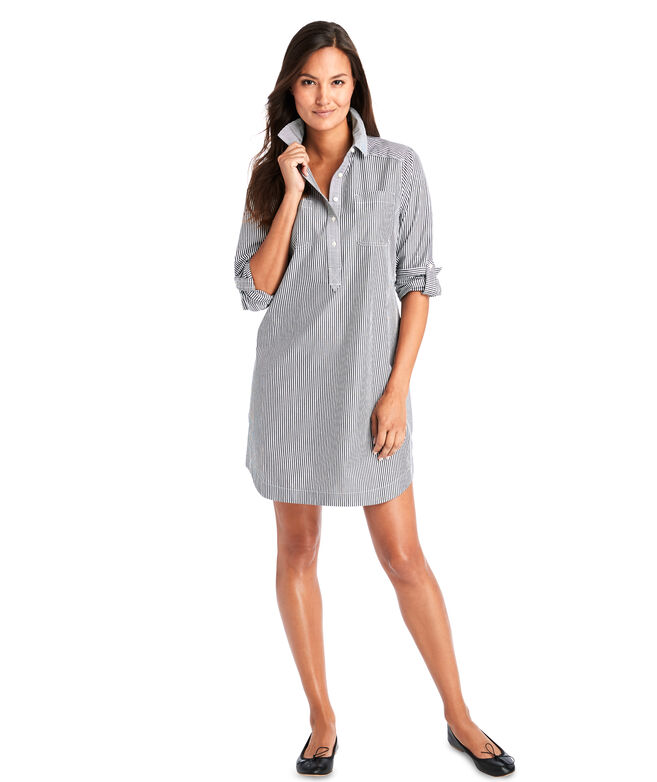Mixed Stripe Margo Shirt Dress