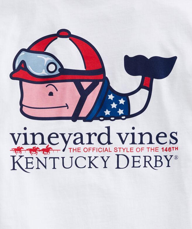 Big & Tall Kentucky Derby Jockey Whale Short-Sleeve Pocket Tee