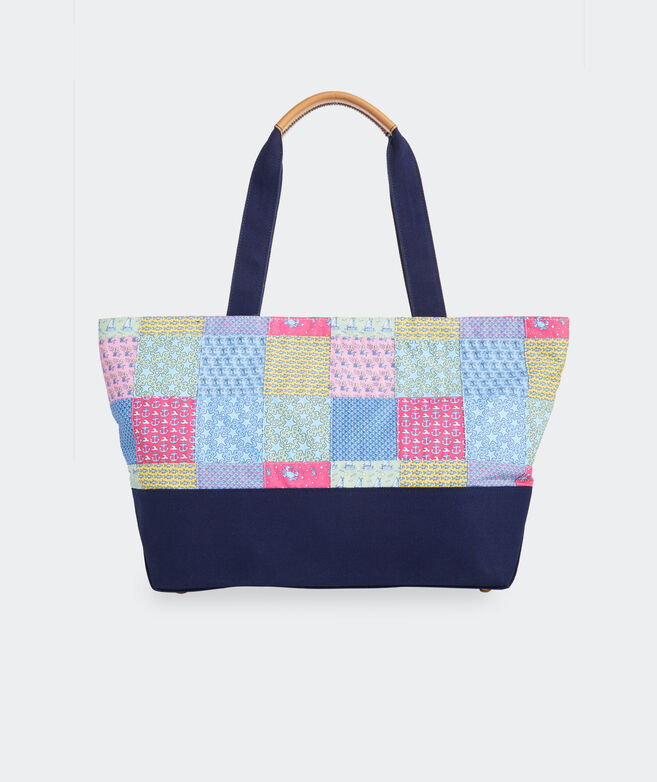 Heritage Patchwork Large Tote