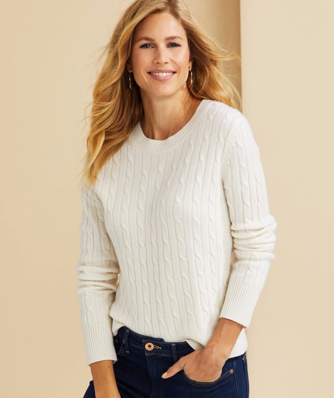 Cashmere Coral Lane Sweater