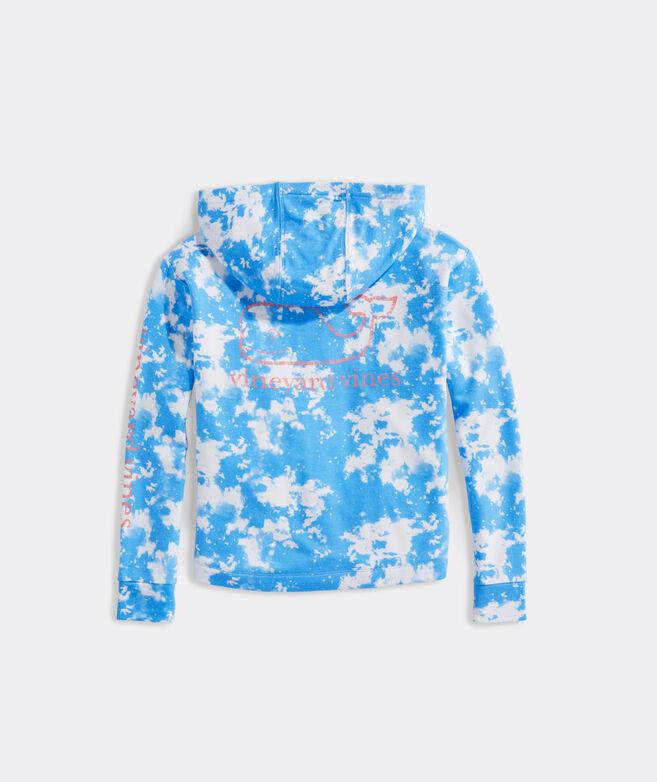 Girls' Tie-Dye Vintage Whale Dreamcloth Hoodie