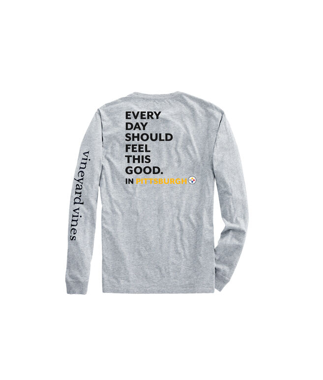 Adult Steelers Long-Sleeve EDSFTG T-Shirt