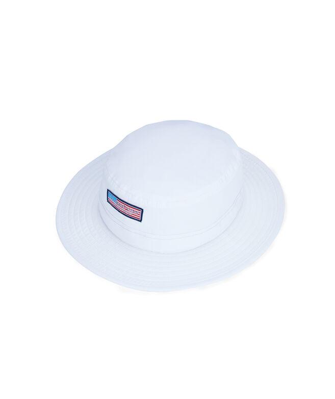 Flag Logo Box Performance Sun Hat