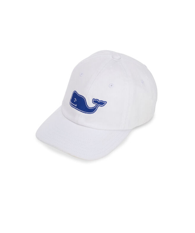 Boys Large Whale Logo Baseball Hat