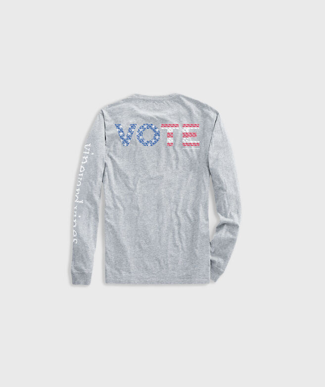 Women's Limited-Edition 2020 VOTE Long-Sleeve Pocket Tee