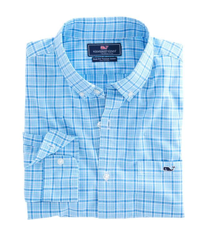 Seawatch Plaid Slim Tucker Shirt