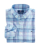 Pleasant Bay Plaid Classic Tucker Shirt