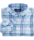 Pleasant Bay Plaid Classic Tucker Shirt