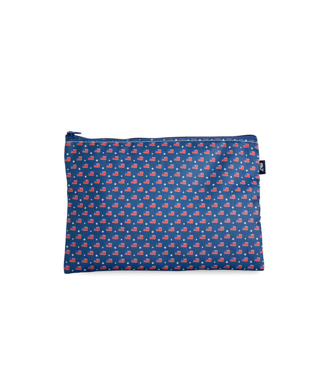 Sea Bags Flag Print Pouch