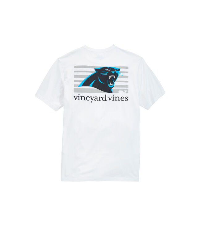 Carolina Panthers Block Stripe Tee