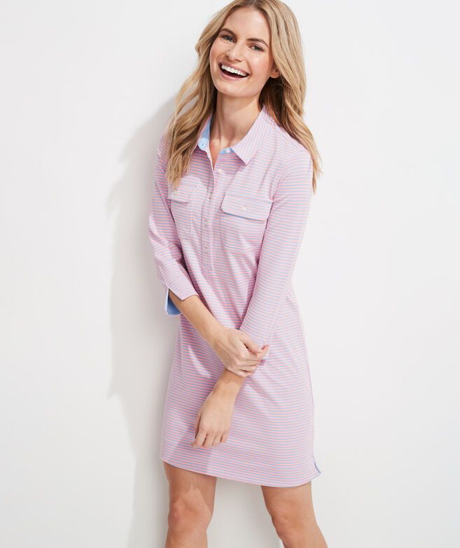 UPF Margo Shirt Dress