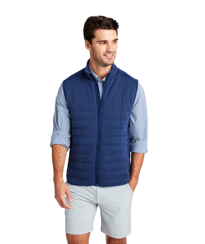 Performance Sweater Fleece Vest