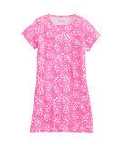 Girls Horseshoe Lace Knit Dress