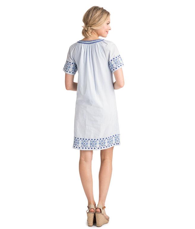 Sea Spray Stripe Tassel Dress