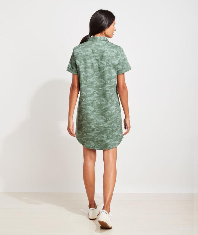 Tonal Camo Margo Shirtdress
