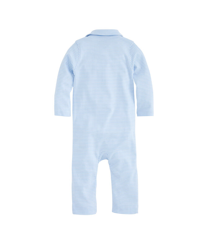 Baby Striped Polo One-Piece