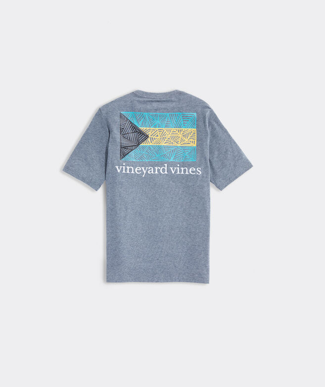 Boys' Bahama Flag Short-Sleeve Pocket Tee