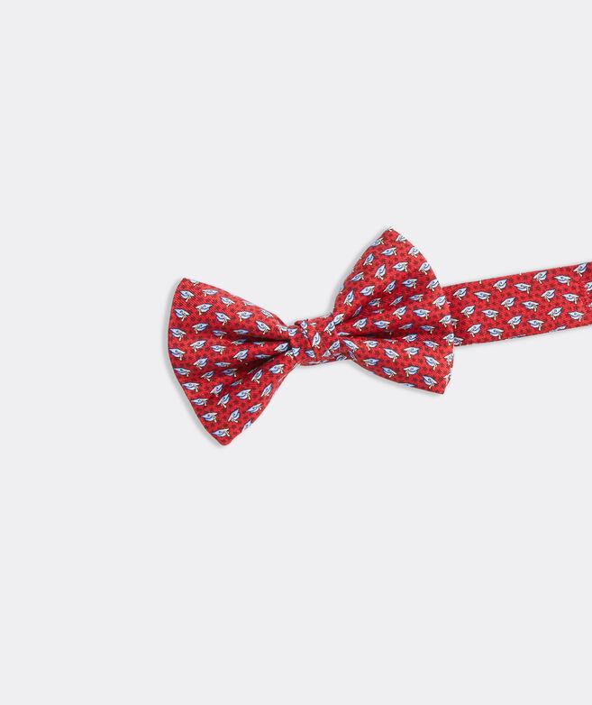 Boys' Grad Caps Printed Bow Tie