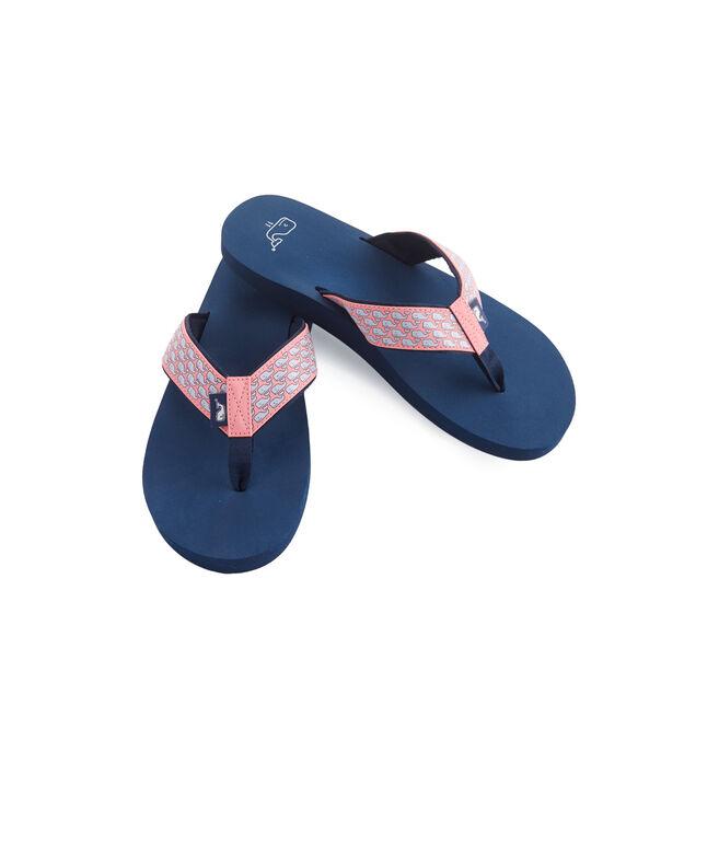 Whale Flip Flops
