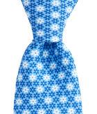 Snowflake Geo Printed Tie