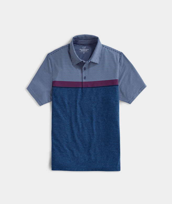 Good Life Striped Sankaty Polo