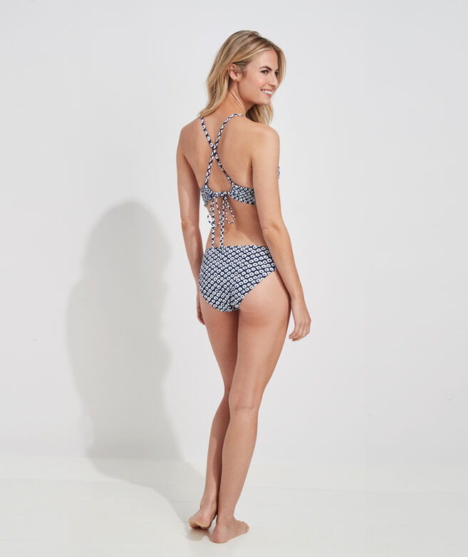 Stingray Smocked Bikini Top