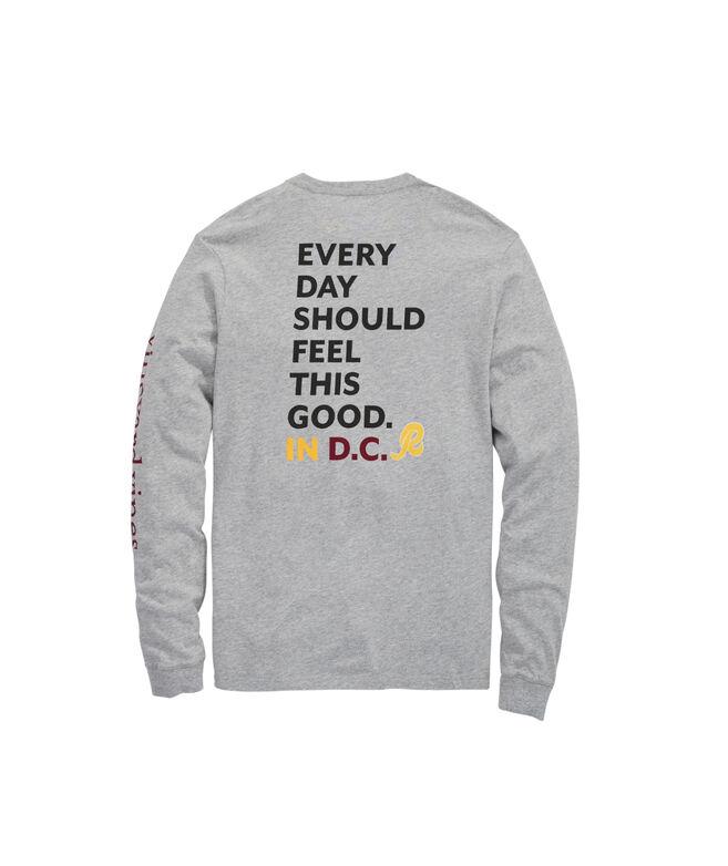 Washington Redskins Long-Sleeve EDSFTG T-Shirt