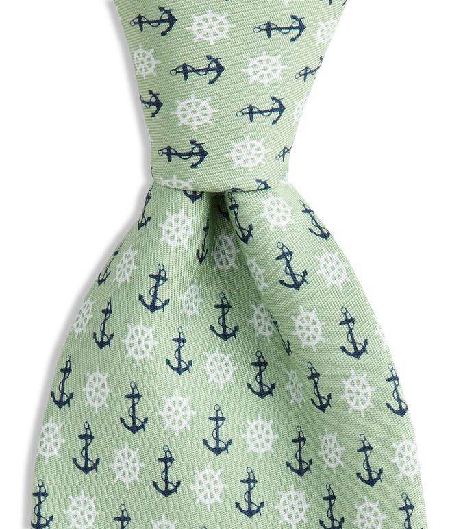Anchor & Wheel Tie