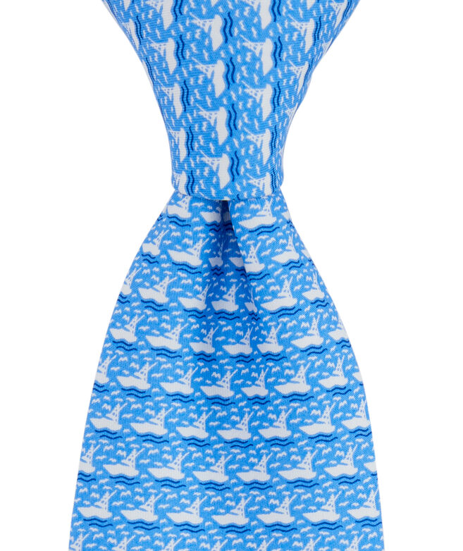 Boys Sportfisher Cruise Tie