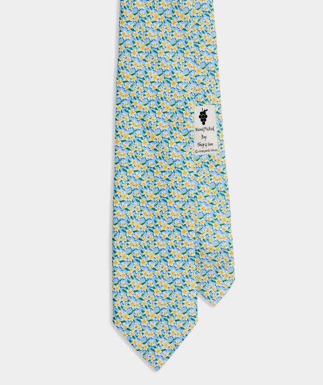 Island Floral Printed Tie