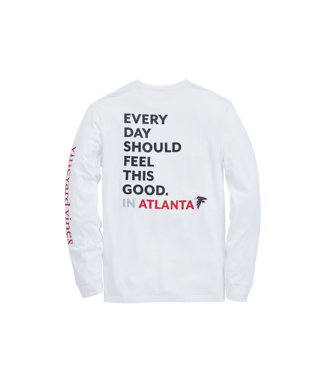 Atlanta Falcons Long-Sleeve EDSFTG T-Shirt