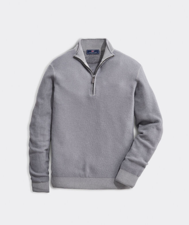 Dunmore Cashmere 1/2 Zip Sweater