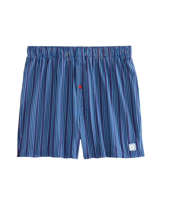 Bluff Stripe Performance Boxers