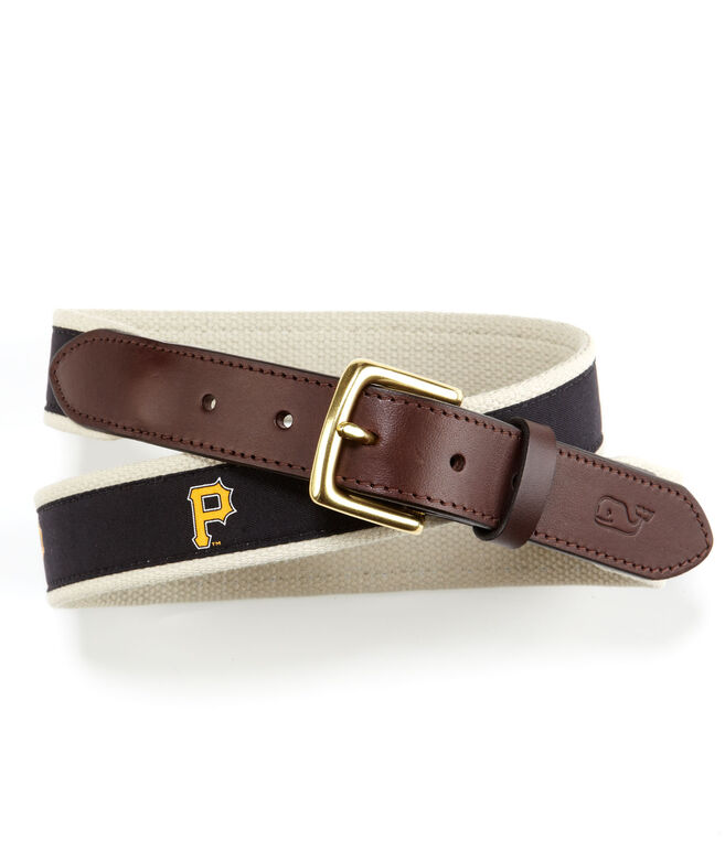 Pittsburgh Pirates Canvas Club Belt