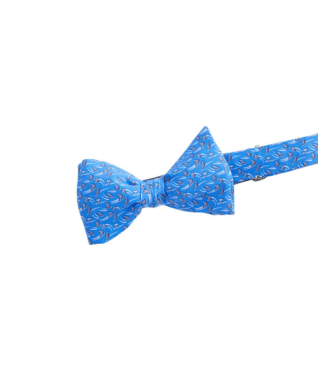 Mens Shark Week Circling Sharks Bow Tie
