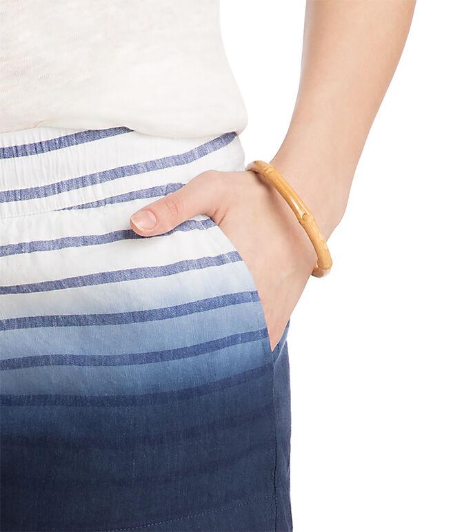 Dip Dye Stripe Pull On Shorts