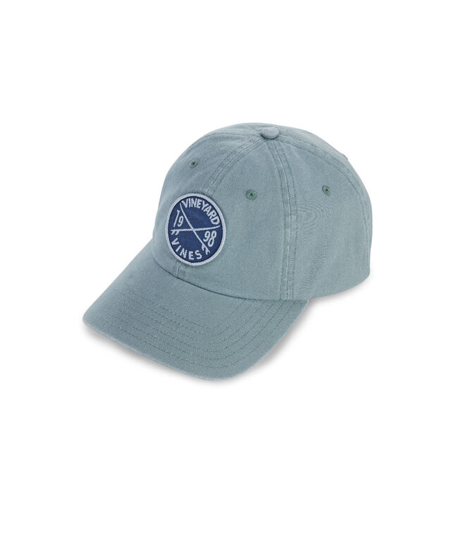 Embroidered Surf Crest Patch Baseball Hat