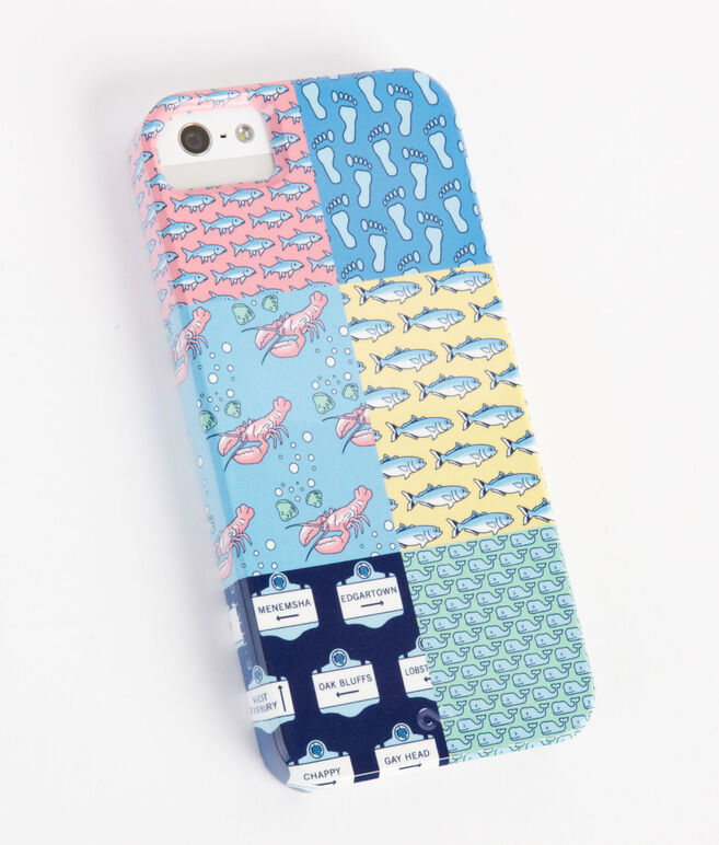 Patchwork iPhone 5 Case