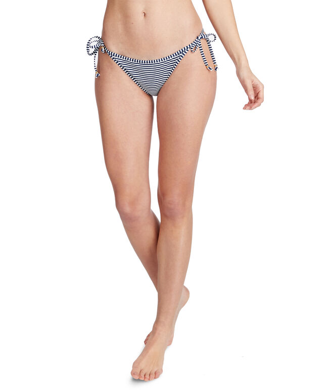 Diamond Fish Reversible String Bikini Bottom