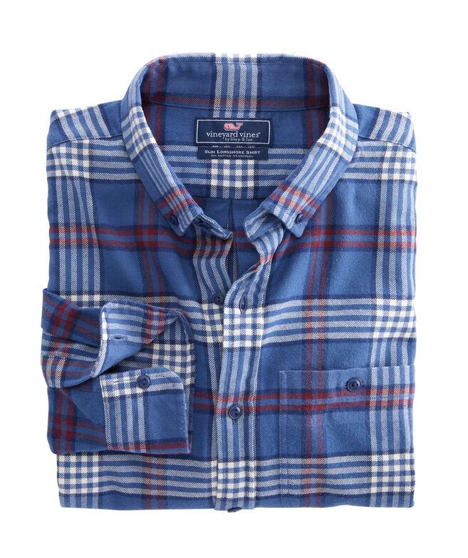 Big & Tall Halyard Flannel Longshore Button-Down Shirt