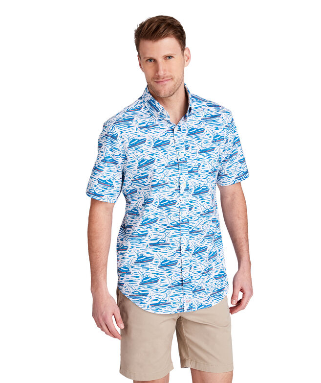 Classic Fit Sportfisher Short-Sleeve Murray Shirt