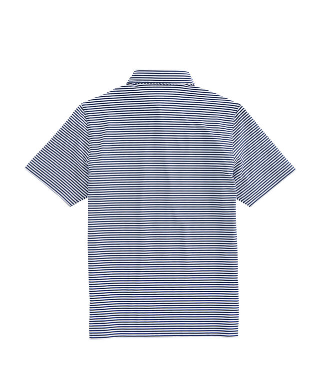 Mens Winstead Stripe Sankaty Performance Polo