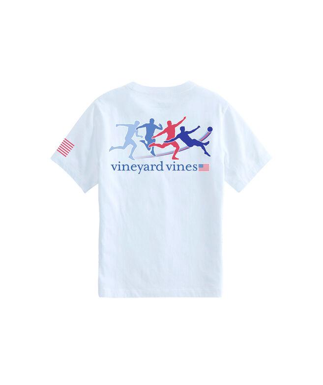 Boys Kick Motion Pocket T-Shirton Pocket T-Shirt